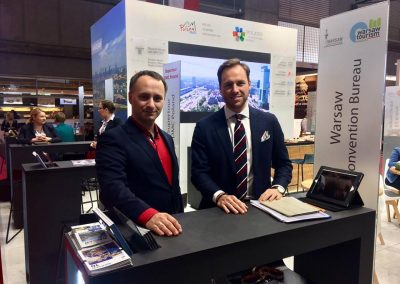Warsaw at the IBTM Barcelona 2018