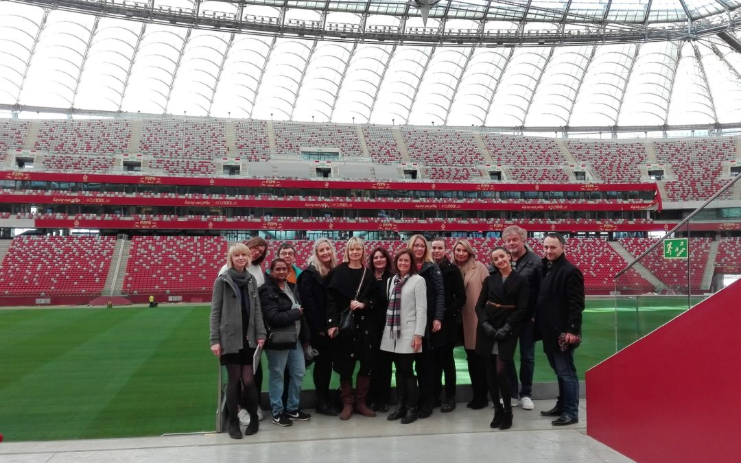 Fam trip from Scandinavia, Benelux and USA