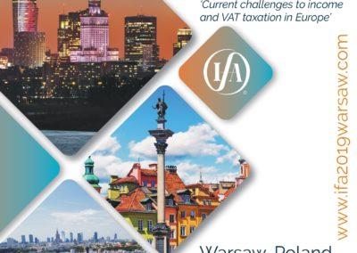 IFA European Region Conference 2019 in Warsaw