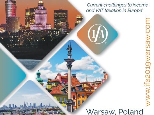 IFA European Region Conference 2019 in Warsaw