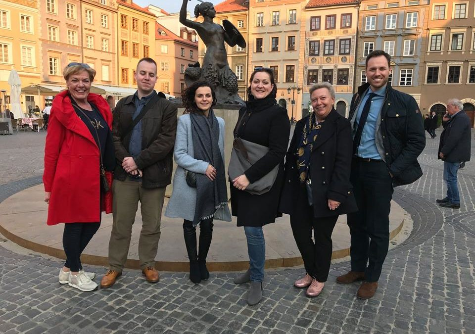 Fam trip from Denmark and Germany