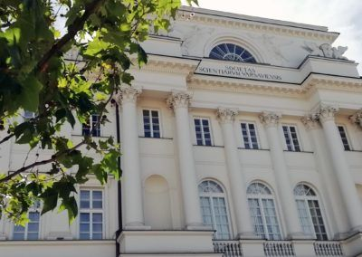 Cooperation agreement between Warsaw Tourism Organisation and Polish Academy of Sciences