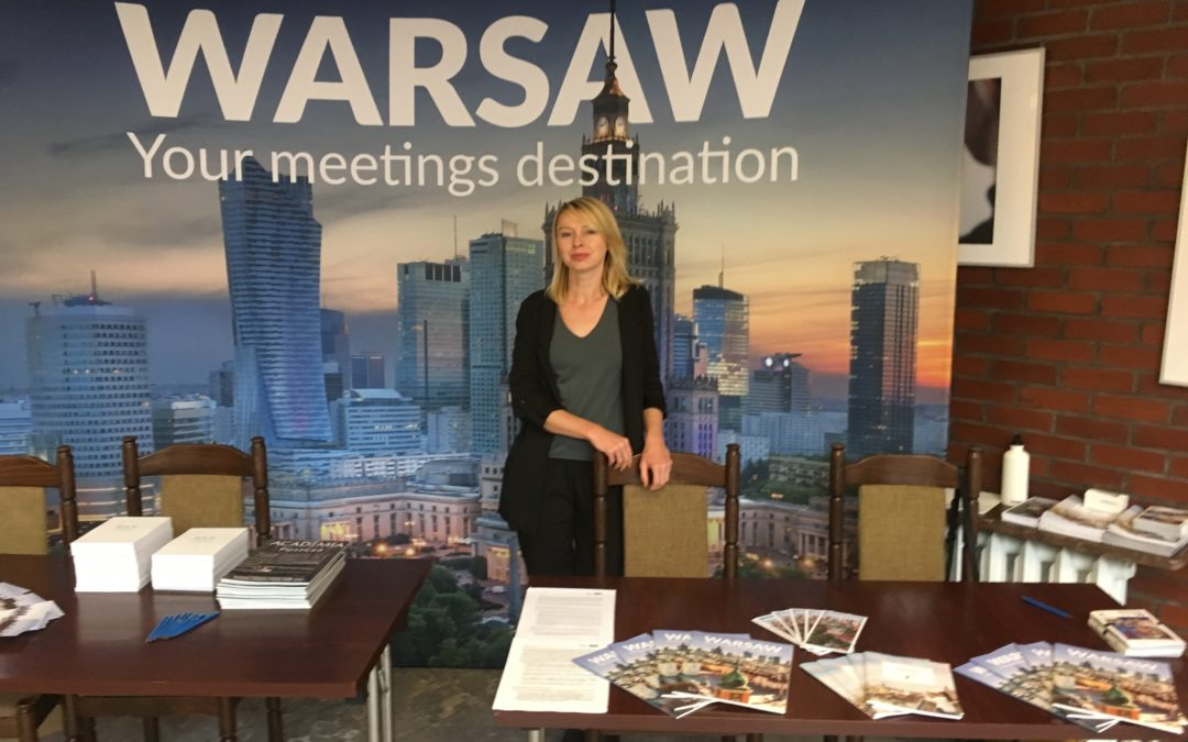 Warsaw promoted at grant training meeting with ERC Scientific Council members