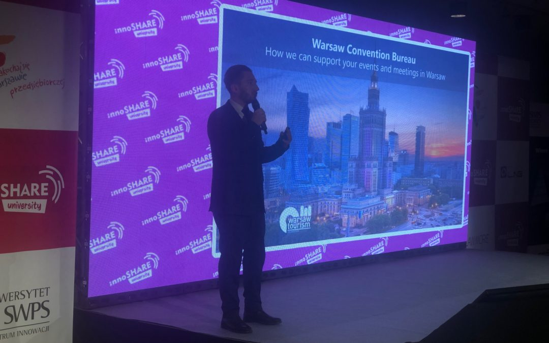 Warsaw Convention Bureau at InnoSHARE UNIversity 2019