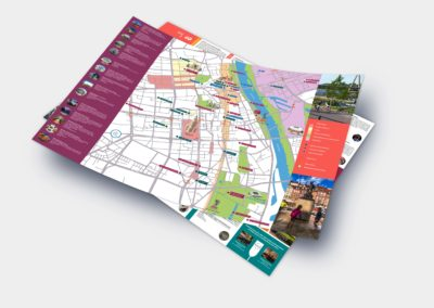 Best of Warsaw City Tours map available in WTO partner hotels