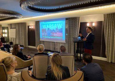 Fam trip for USA meeting planners