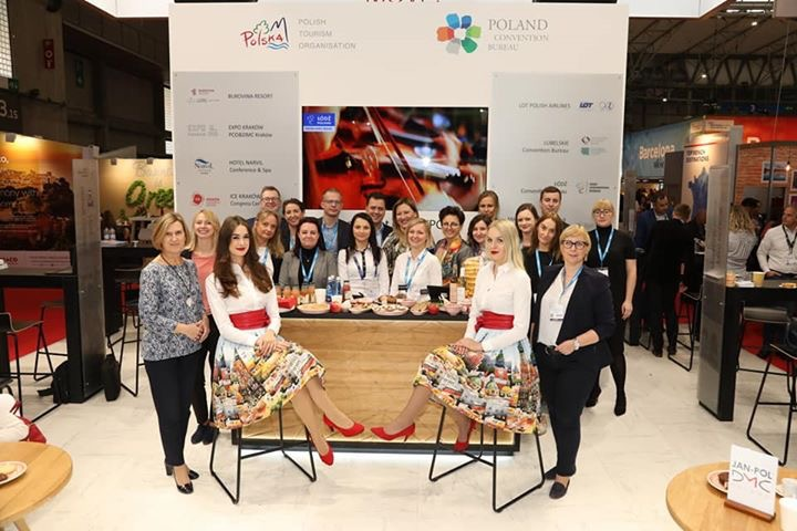 Warsaw CvB exhibiting at IBTM Barcelona 2019
