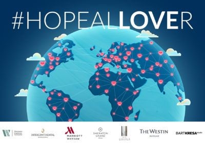 Let's get our hearts shining around the globe!