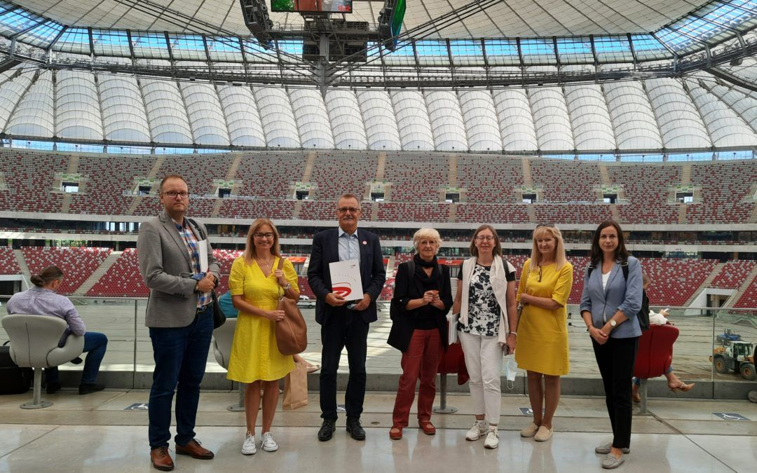 FIG Congress 2022 Warsaw site inspection
